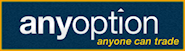 Anyoption binary options broker review logo